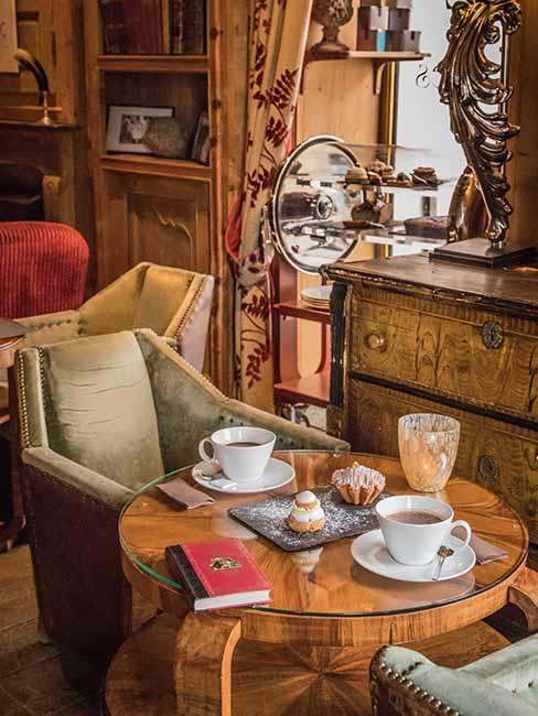 salon chalet chocolat chaud