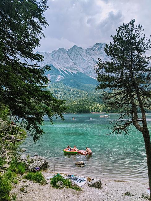 lac eibsee en bavière