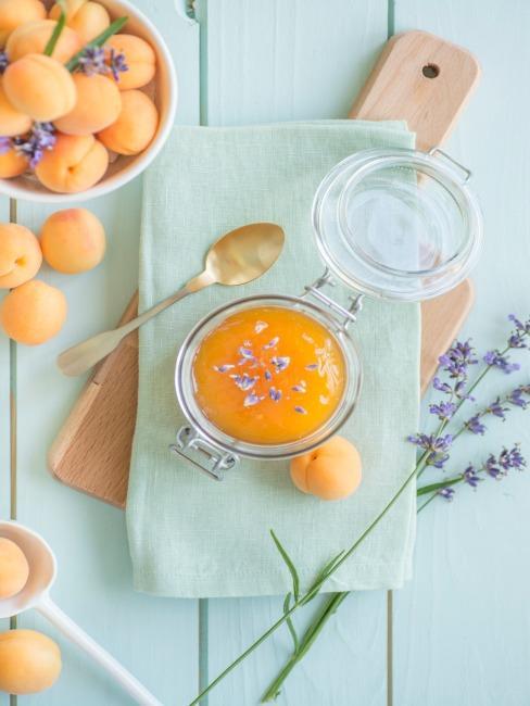 confiture lavande abricot