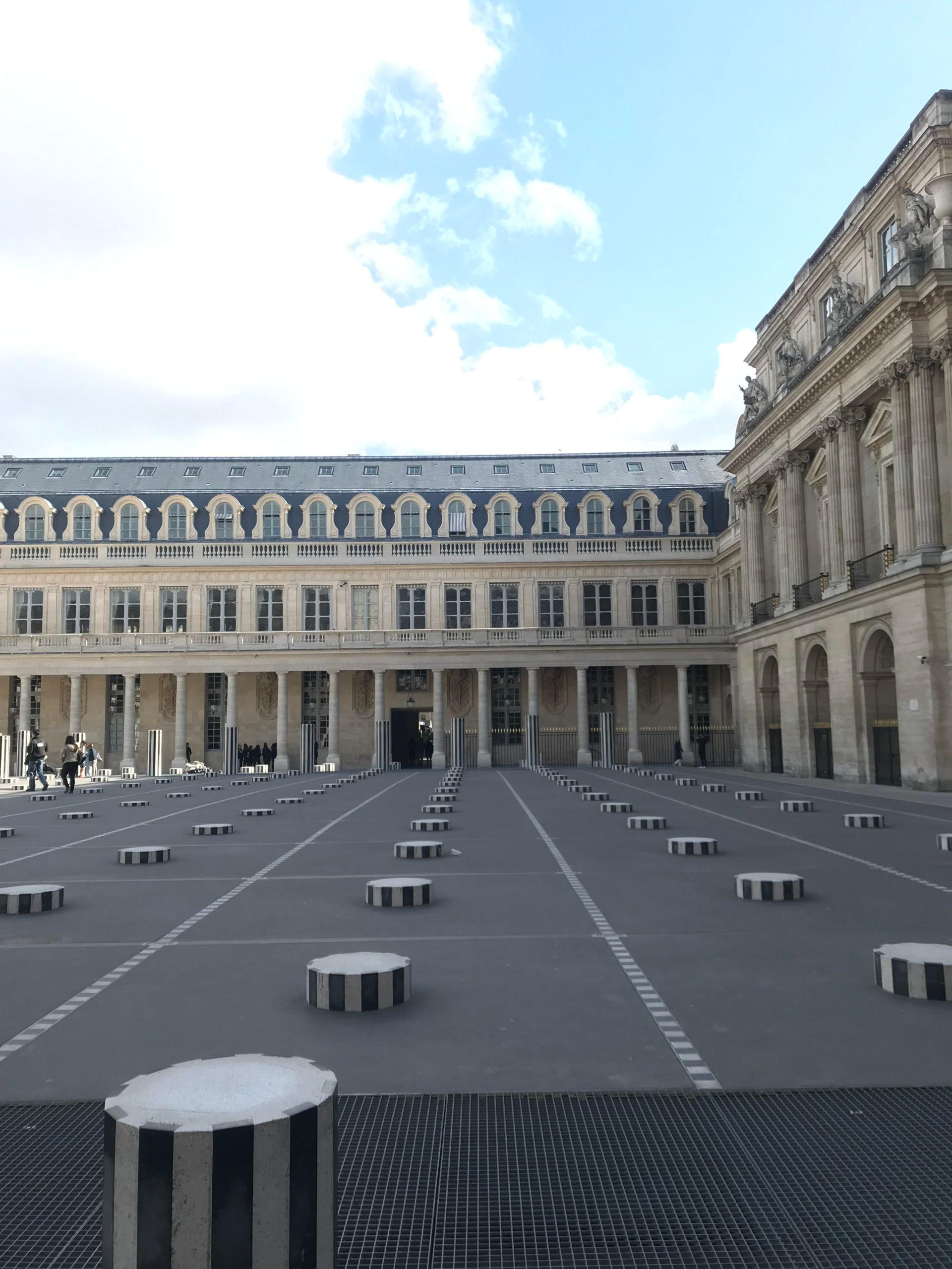 colonne de buren paris