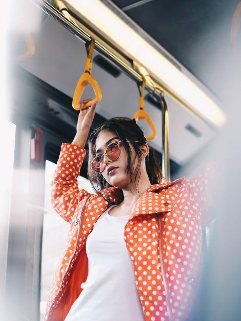 personne dans le bus