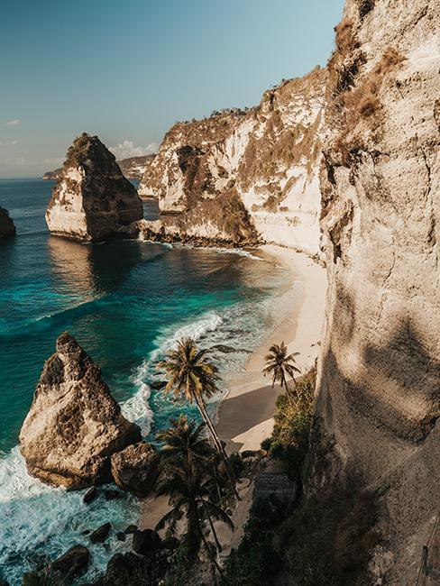 Plage paradisique à Bali