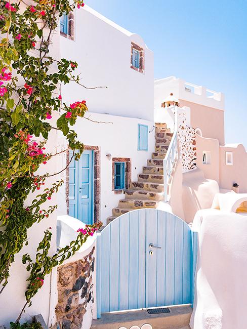 Maison traditionnelle en Grèce