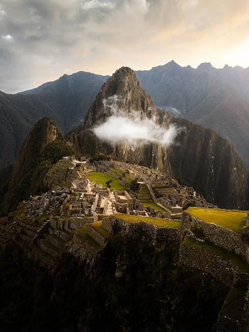 Montagnes au Pérou