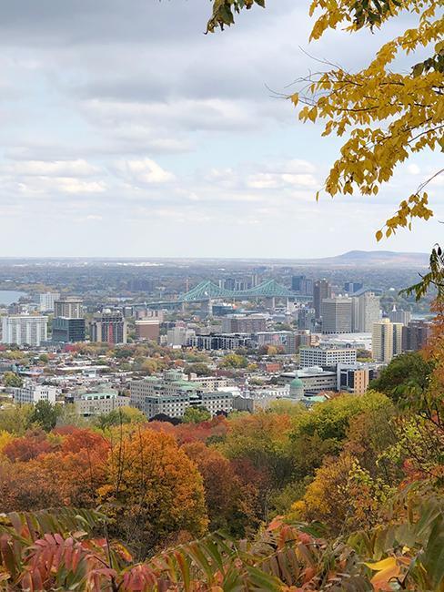 Montreal à l'automne