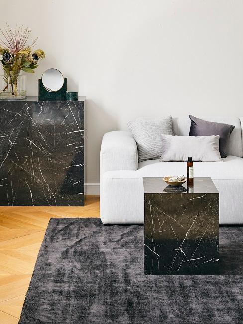 Accessoires de déco en marbre