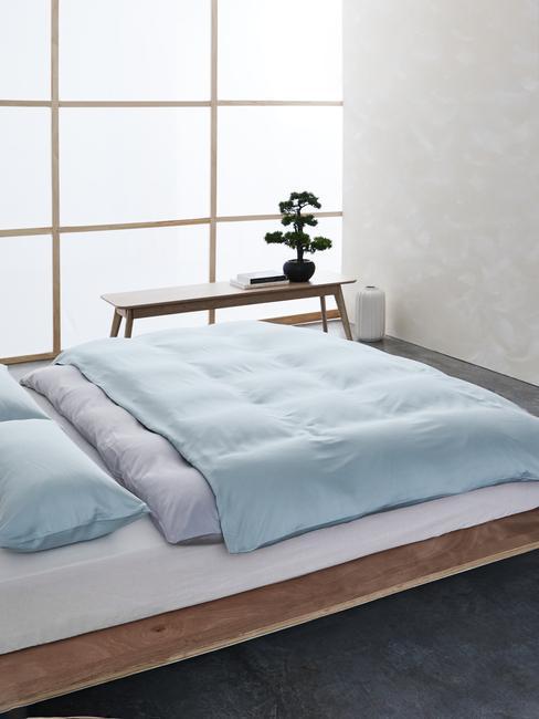 chambre style japandi
