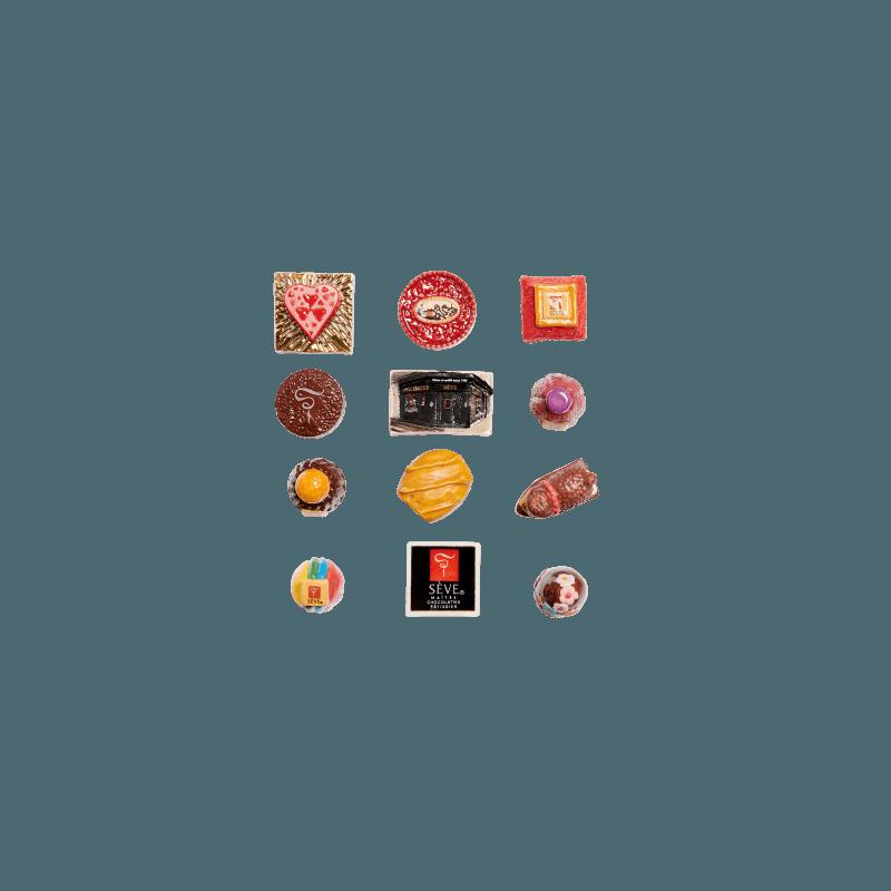 collection de feves