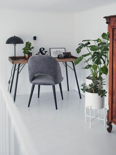 bureau en bois home office