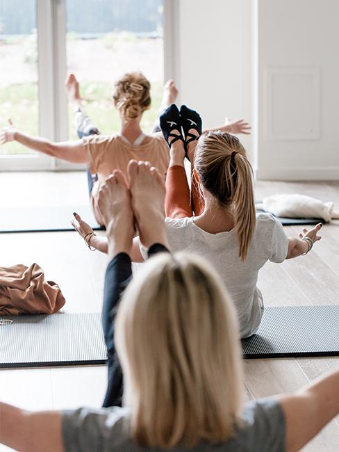 seance de yoga studio