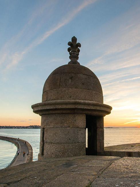 ©SimonBourcier - Vue mole des noires Saint-Malo