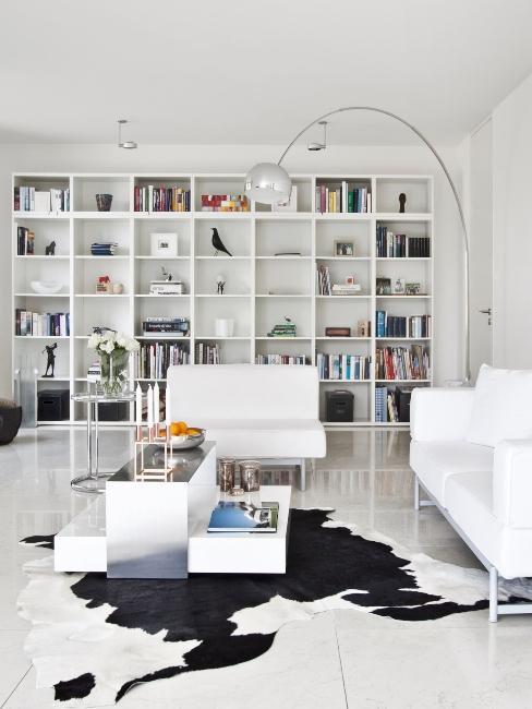 salon moderne epure