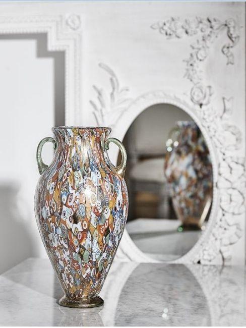 vase et miroir inspiration style victorien