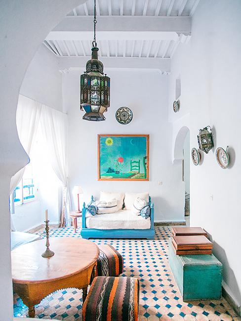 intérieur style oriental