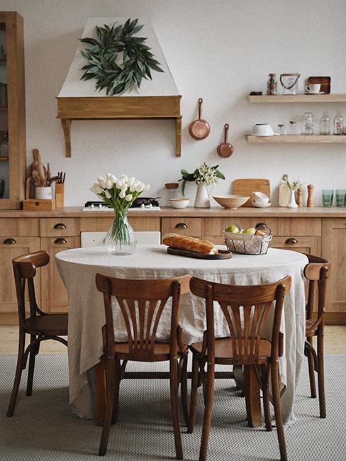 cuisine classique en bois