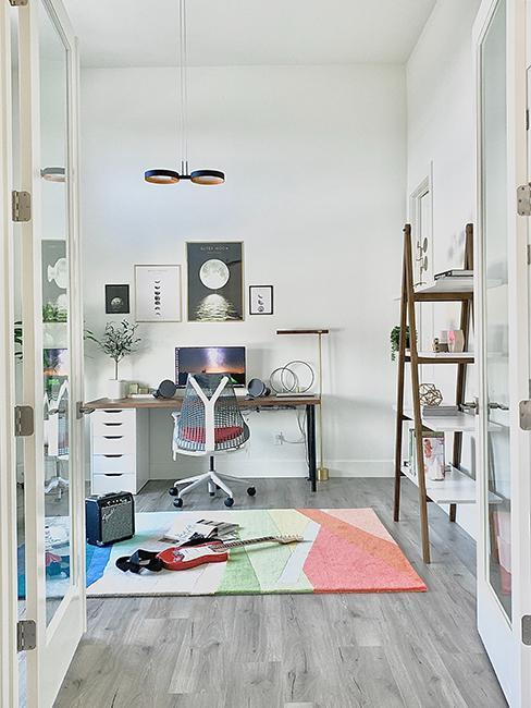 chambre ado avec bureau