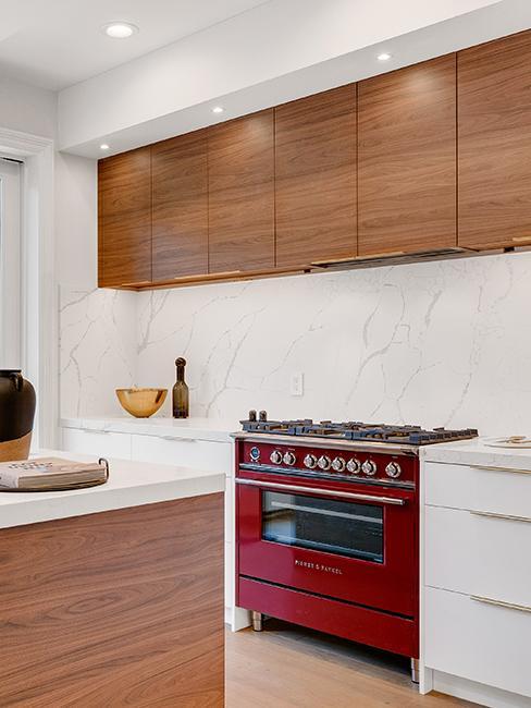 cuisine avec meubles en bois