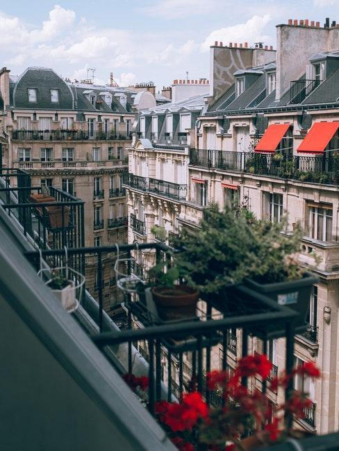 Balcon à la française