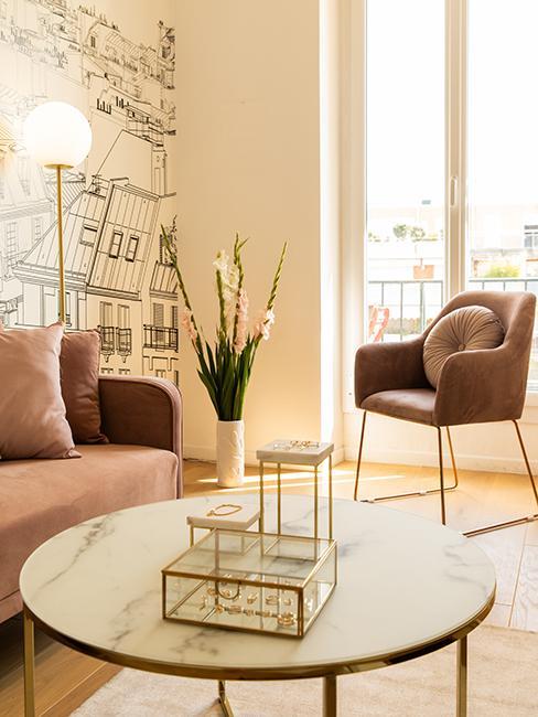 Salon, bureau Maison dorée @chloebbbb
