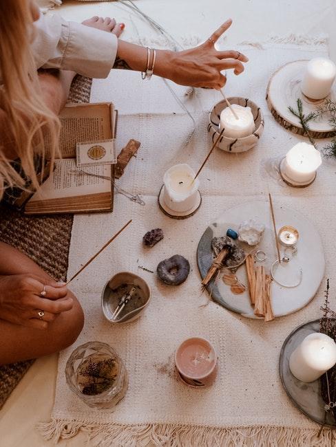 calme, bougies, bien etre, niksen