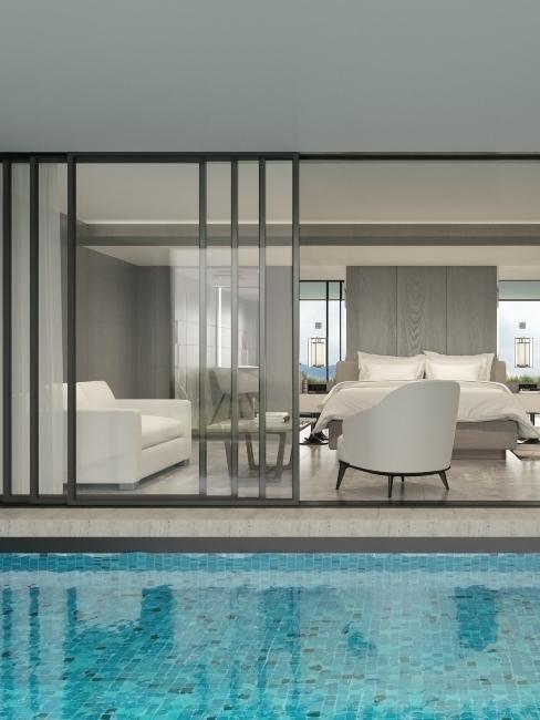idée pool house