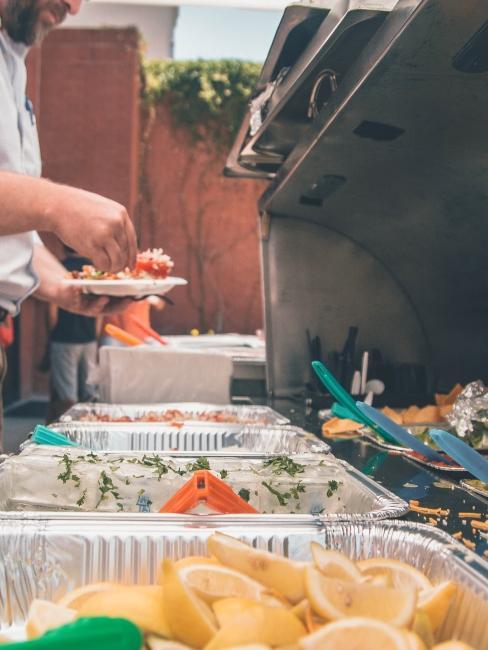 barbecue sur terrasse