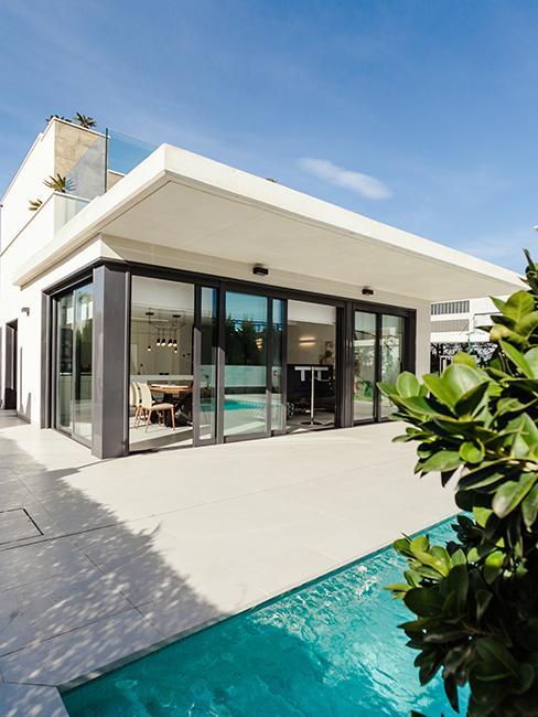 maisons avec piscine et veranda