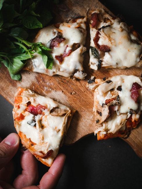 pizza pour soirée cinéma