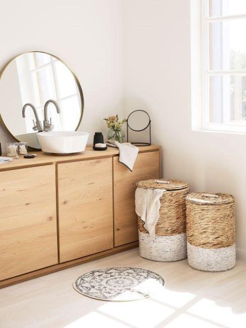 salle de bains scandinave
