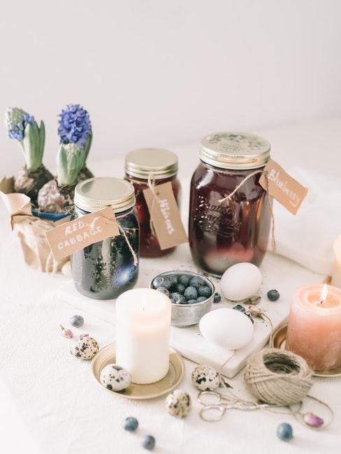cadeaux diy bougies, pots