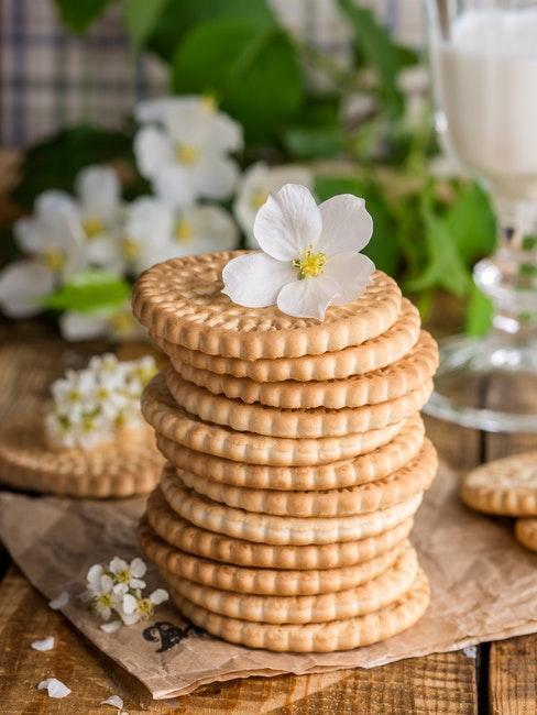 biscuits fait maison, idée cadeau invités de mariage