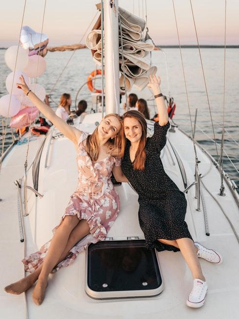 weekend à la mer entre filles, cadeau pour enterrement de vie de jeune fille