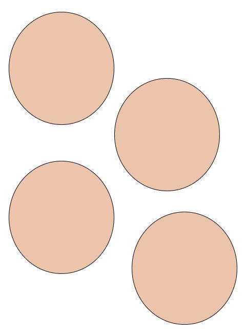 Diy création d'une enveloppe avec des cercles