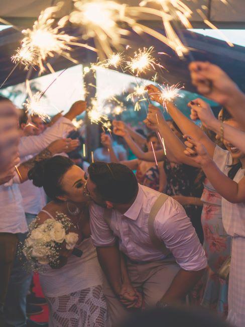couple, fete de mariage, mariage