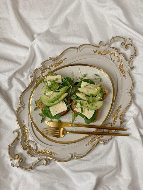 repas de mariage style vintage