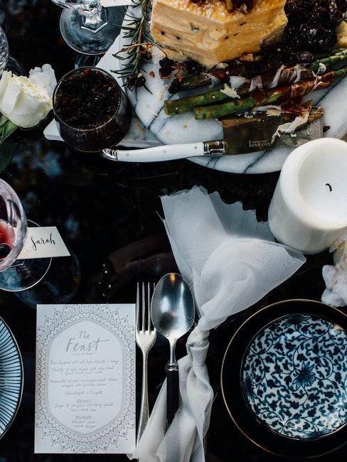 décoration de table de mariage rustique et bohème