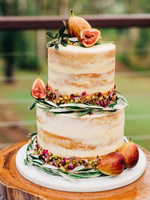 gâteau de mariage boho chic