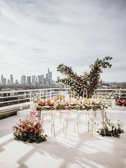 décoration pour petit mariage