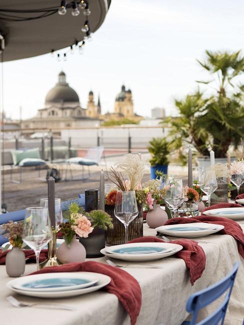 décoration de table pour petit mariage