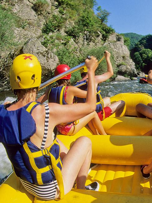 rafting allier loire
