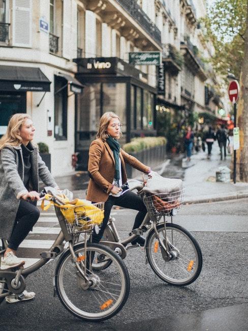 Ballade à vélo en ville