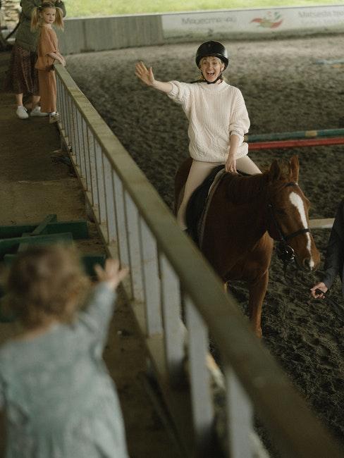 équitation pour enfants