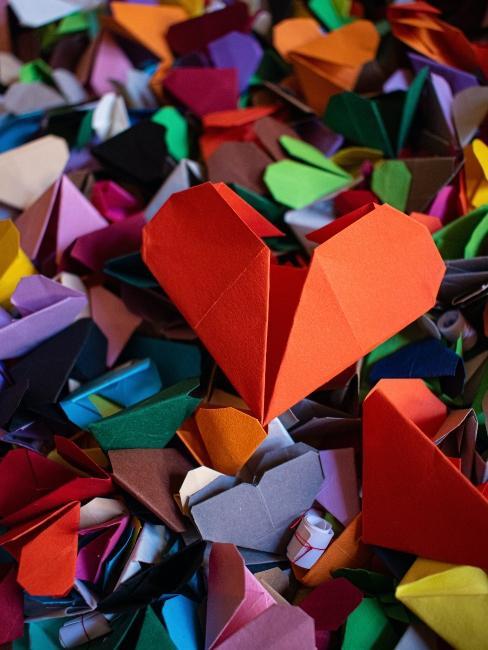 origami cœur