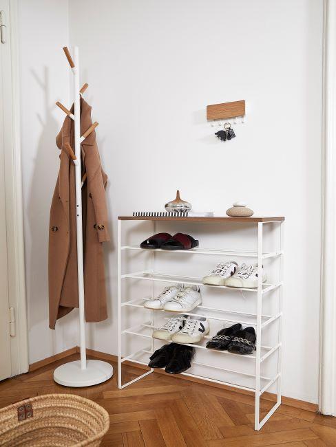 entrée, couloir, portemanteau, meuble à chaussures