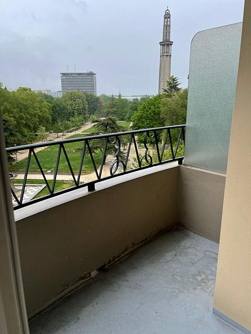 avant aménagement balcon chez beauteactive