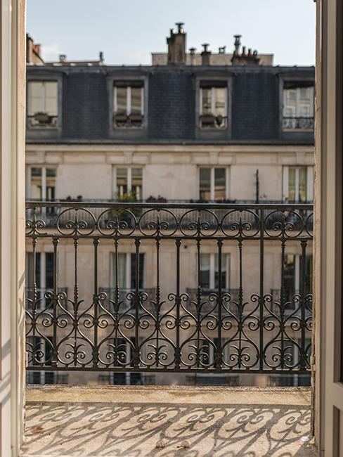 avant aménagement d'un petit balcon parisien chez katie.one