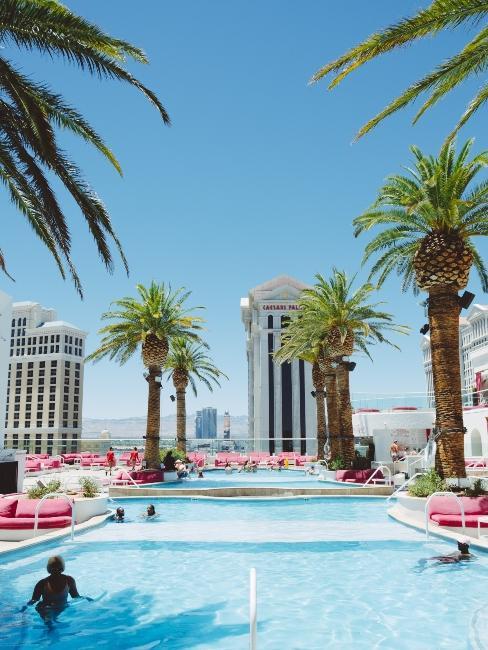 Hôtel avec piscine à Las Vegas