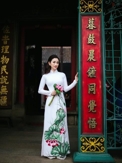 Mariée en Asie