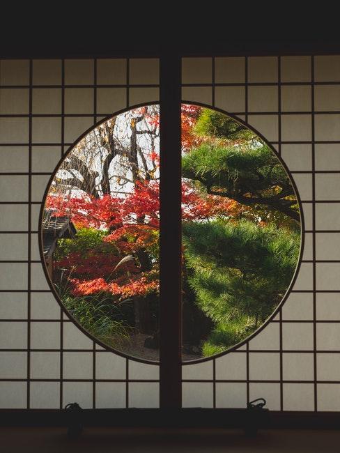 fenêtre zen