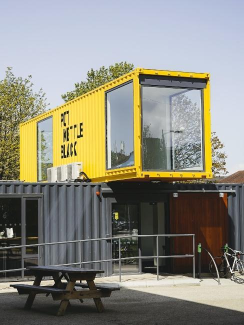maison container deux étages